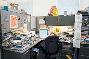 fang shui birou dezordonat